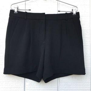 J.Crew Black Crepe Shorts